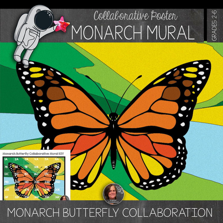 Monarch Butterfly Collaborative Poster