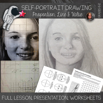 Self-Portrait Drawing Lesson
