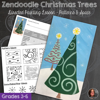 Zendoodle Christmas Tree