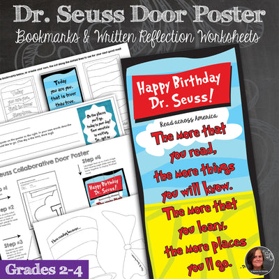 Dr. Seuss Collaborative Classroom Door Poster