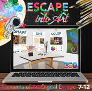 Elements of Art Digital Escape Room