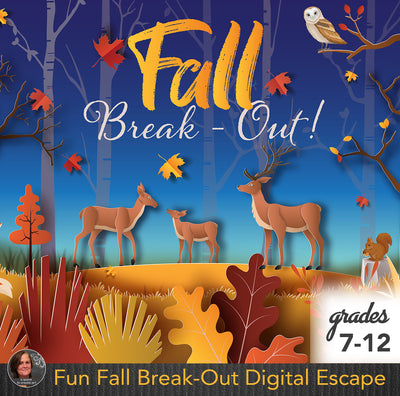 Fun Fall Break-Out Digital Escape
