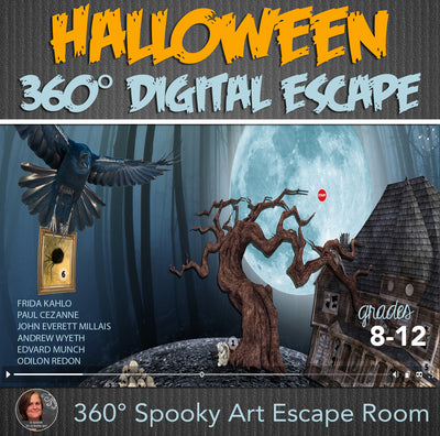 Spooky Art Halloween Digital Escape
