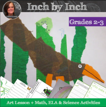 Spring Art Lesson with Math and Science Activities