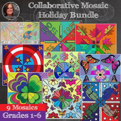 Mosaic Holiday Bundle - Collaborative Mosaics