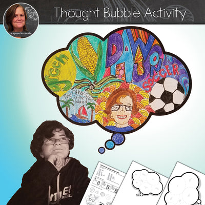Thought Bubble - Back to School Art Activity