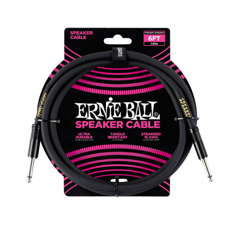 Ernie Ball Classic cable black speaker cable 180cm