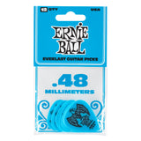 Ernie Ball Everlast picks 12-pack .48mm blue