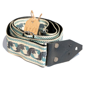 Holy Cow Real Vintage 60's blue leaf strap