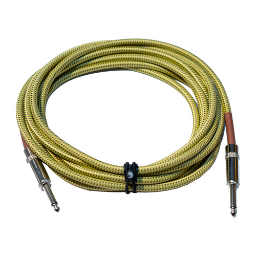D'Addario   Braided instrument cable tweed 3m
