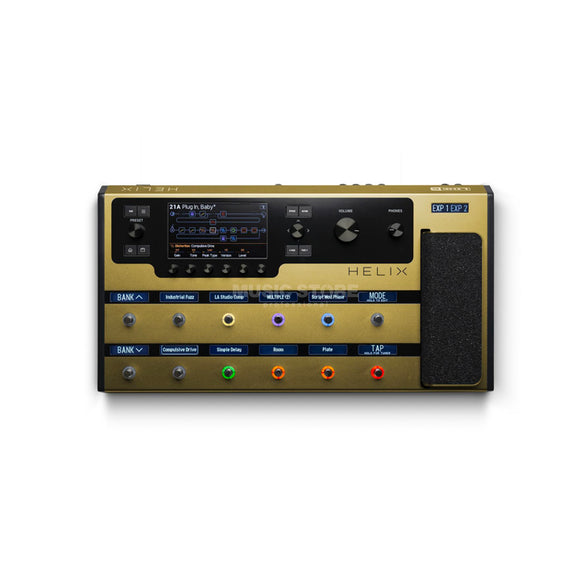 Line 6 Helix Floor Limited Edition Gold