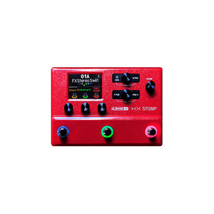 Line 6 HX Stomp Limited Edition Red
