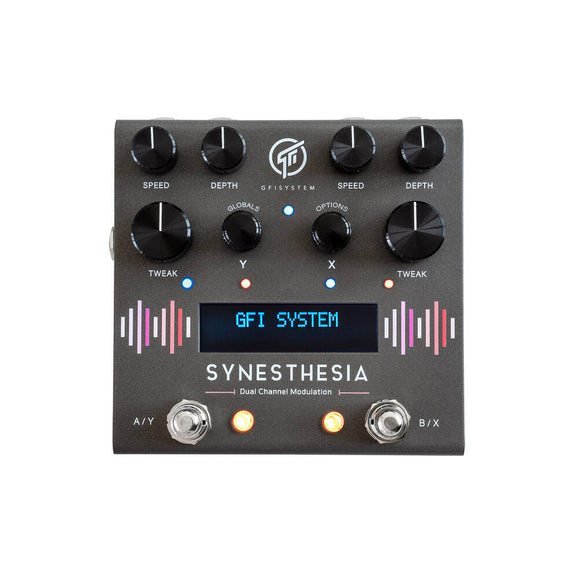 GFI System Synesthesia dual channel modulation