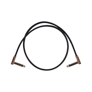 Ernie Ball flat ribbon patch cable black 60,9cm