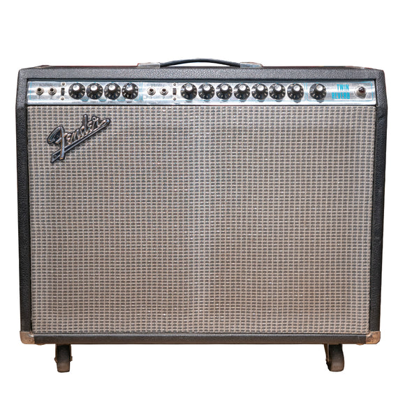 Fender 73 Silverface Twin Reverb