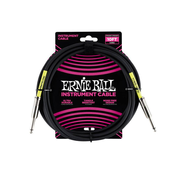 Ernie Ball Classic cable black s/s 3m