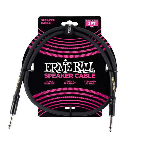 Ernie Ball Classic cable black speaker cable 90cm