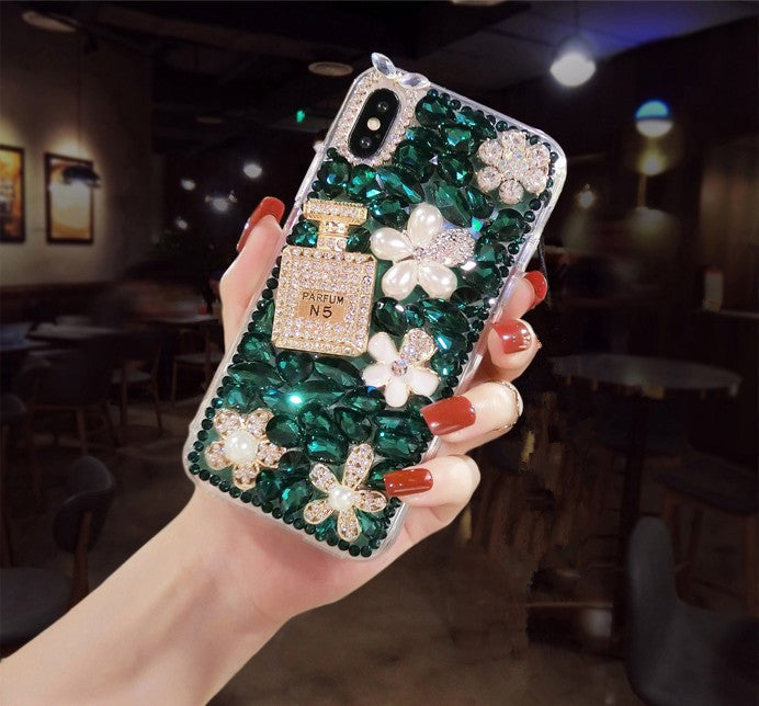 Chic Perfume Sparkling Crystal Phone Case - Narce Cases
