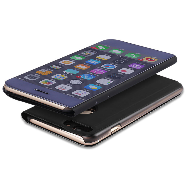 Plating Mirror Clamshell Phone Case - Narce Cases