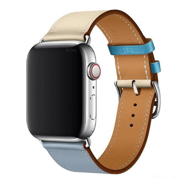 Apple Watch Leather Single Tour Watchband - Narce Cases