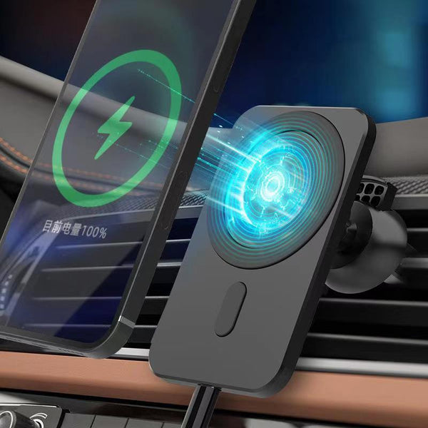Magnetic Wireless Fast Charging Car Mount Air Vent Phone for iPhone - Narce Cases