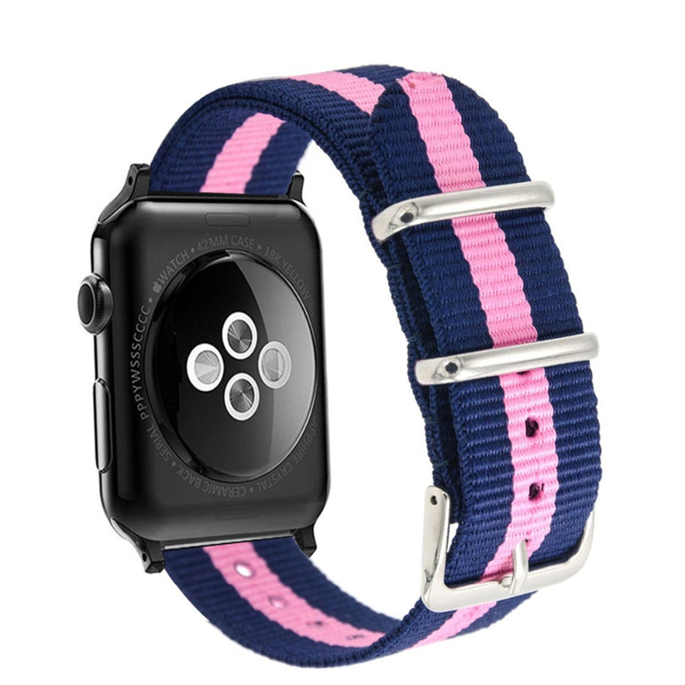 Apple Watch Woven Nylon Buckle Watchband - Narce Cases