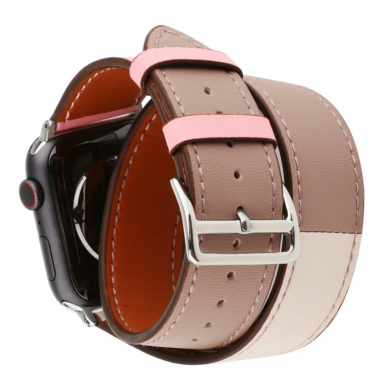 Apple Watch Leather Double Tour Watchband - Narce Cases