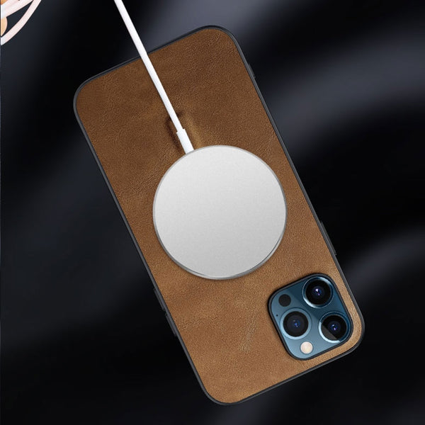 Luxury Leather MagSafe Phone Case - Narce Cases