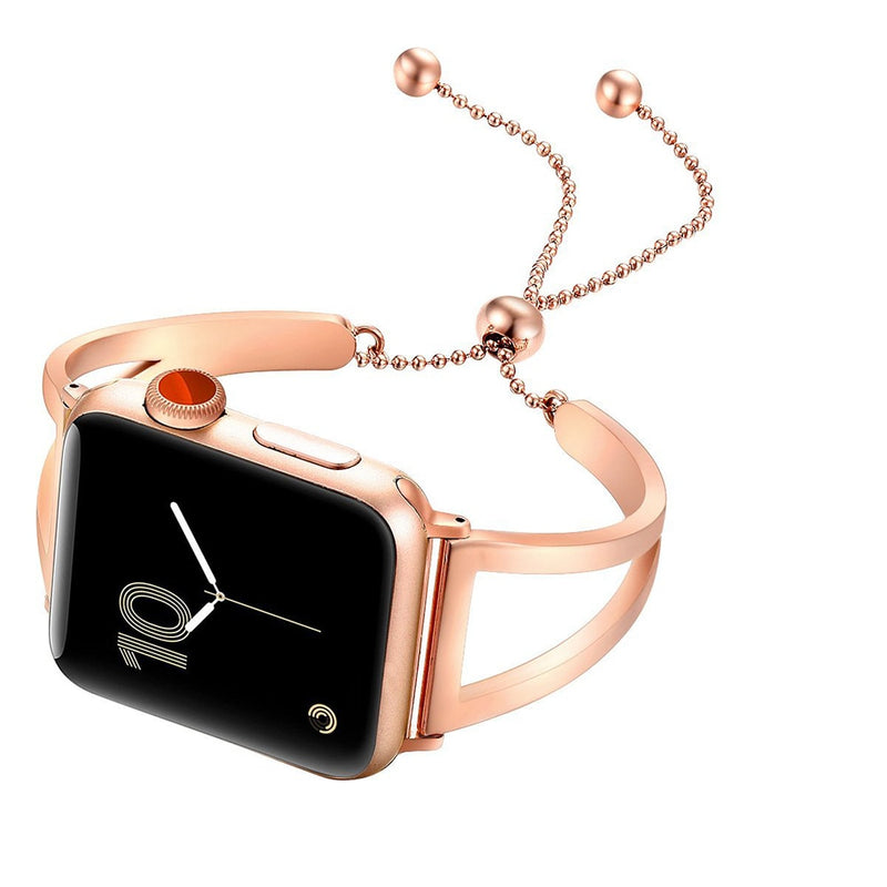 Apple Watch Elegant Stainless Steel Bracelet Watchband - Narce Cases