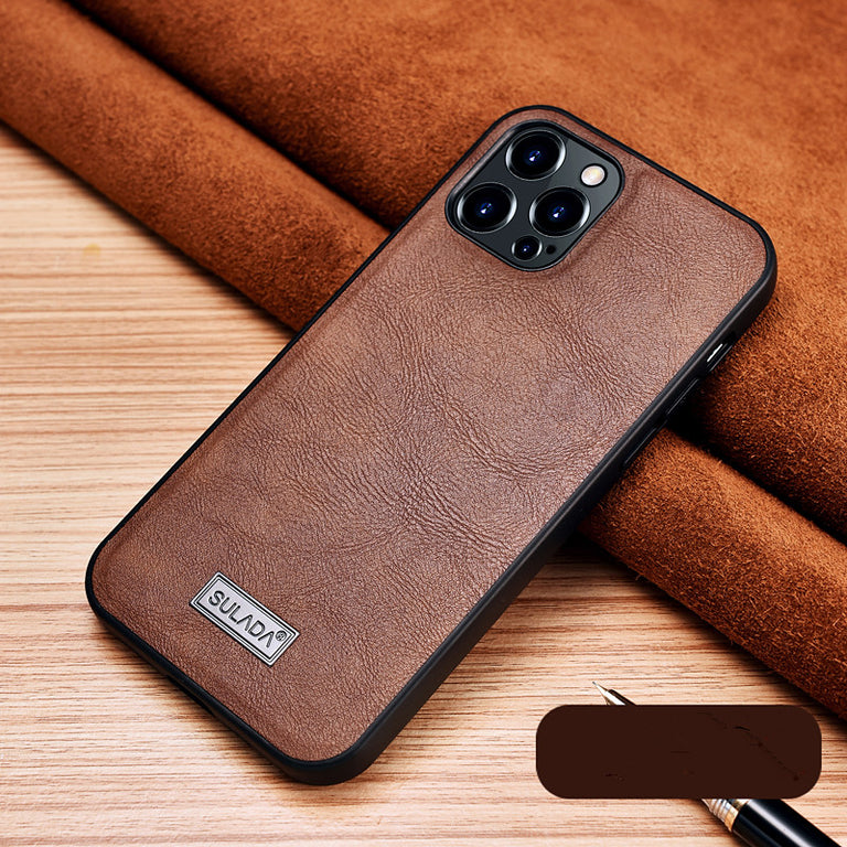 High-End Hand Work Leather Phone Case - Narce Cases