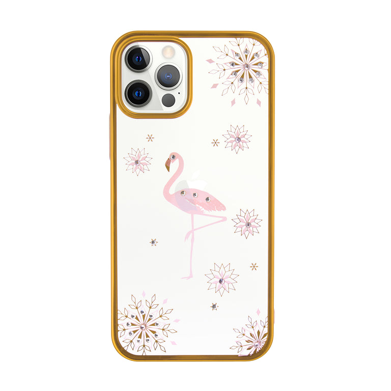 Shinning Diamond Flamingo Phone Case - Narce Cases