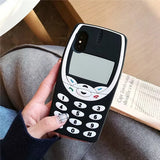 3D Vintage Old Nokia Style Mobile Phone Silicone Phone Case - Narce Cases