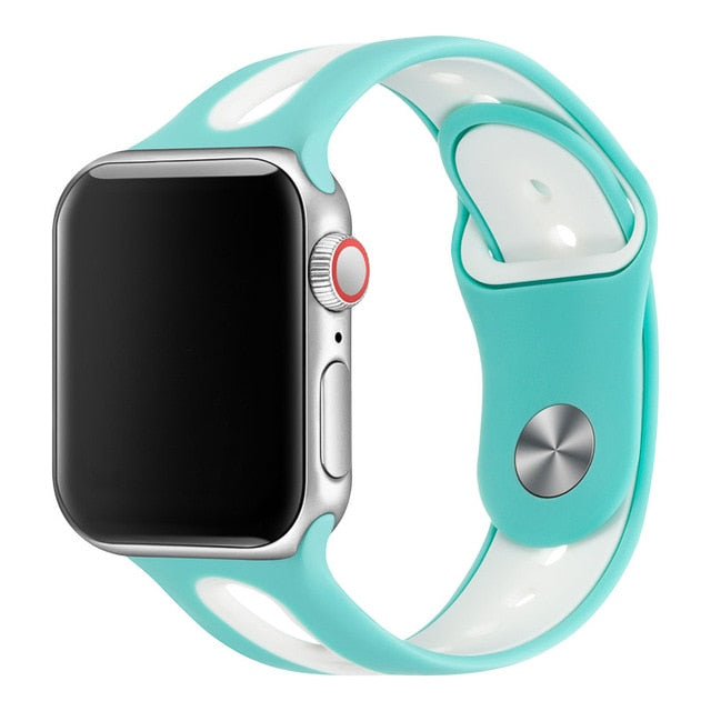 Apple Watch Flexible Dual-Colored Watchband - Narce Cases