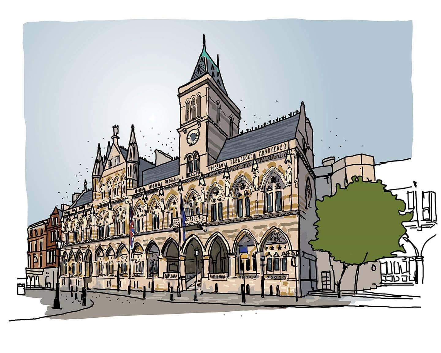 The Guildhall, Northampton 2019