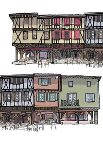 Mirepoix Façades South