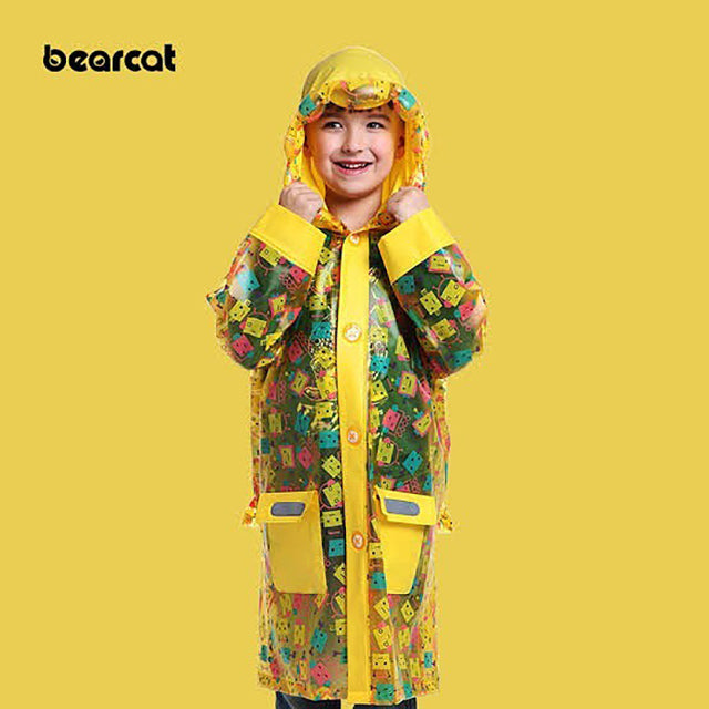 Raincoats available in two colors.