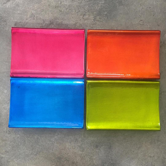 Colored Melamine Tray