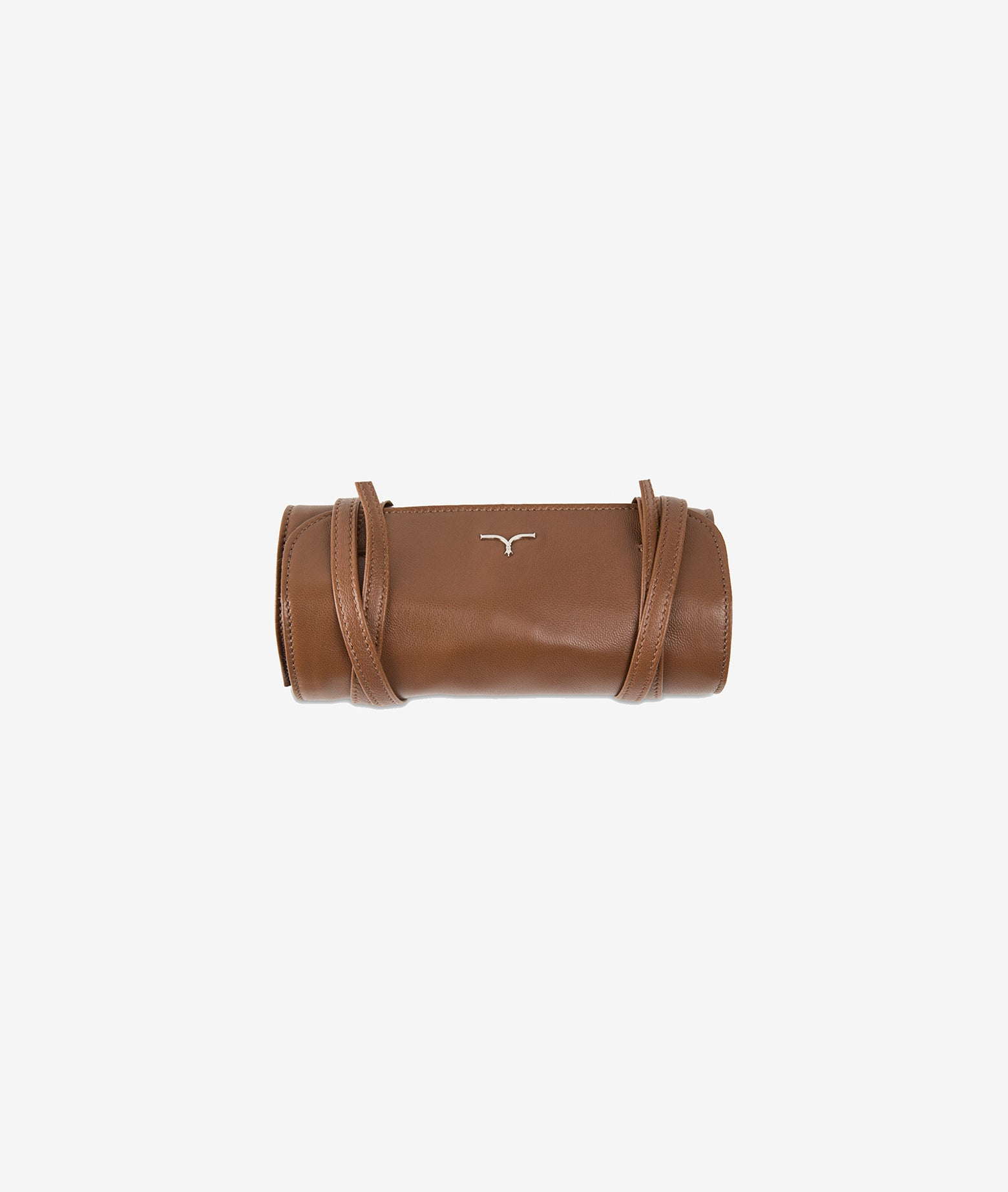 Brown blue foldable 5 watches case