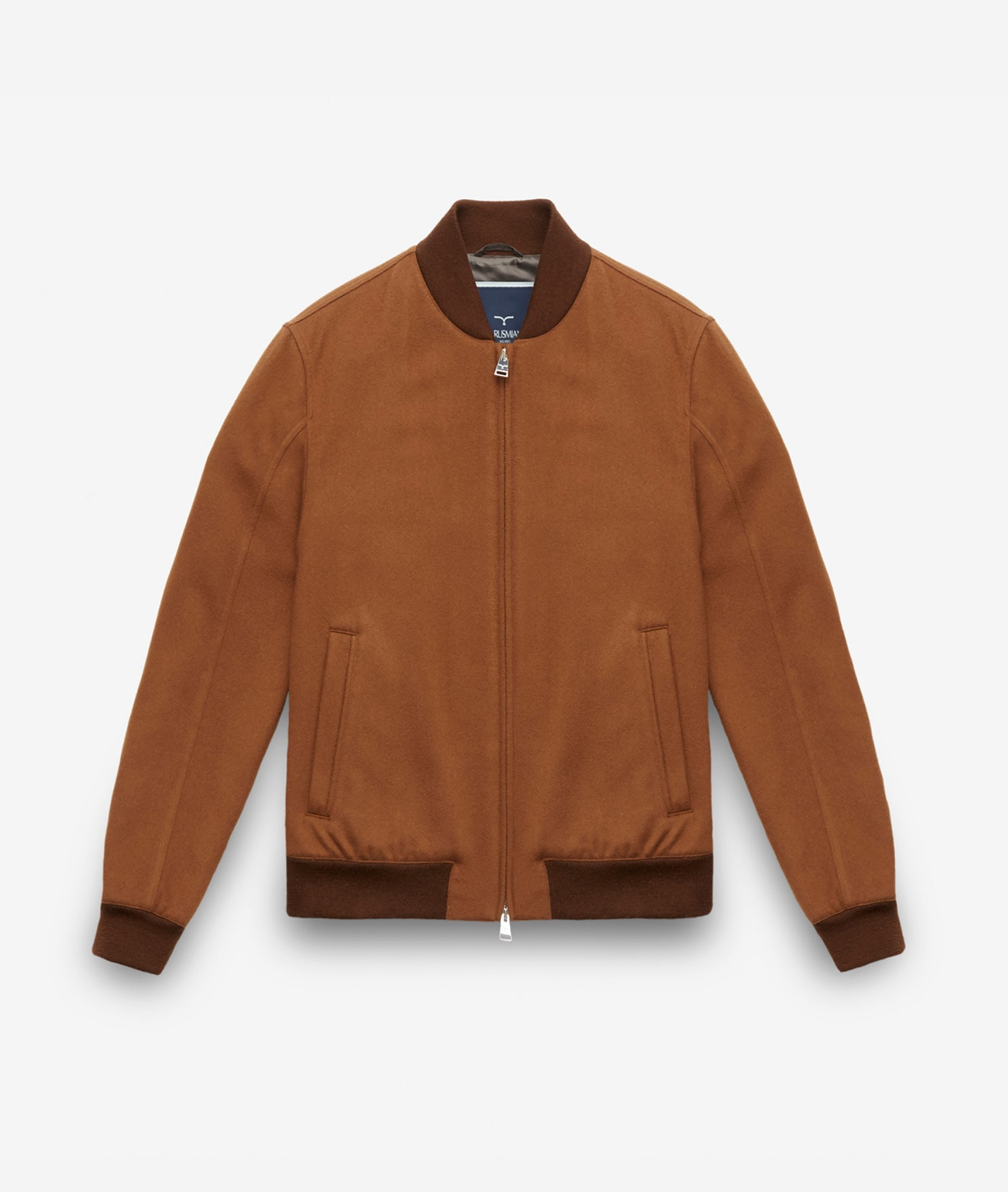 "Cashmere Bomber Jacket ""Cool King"""