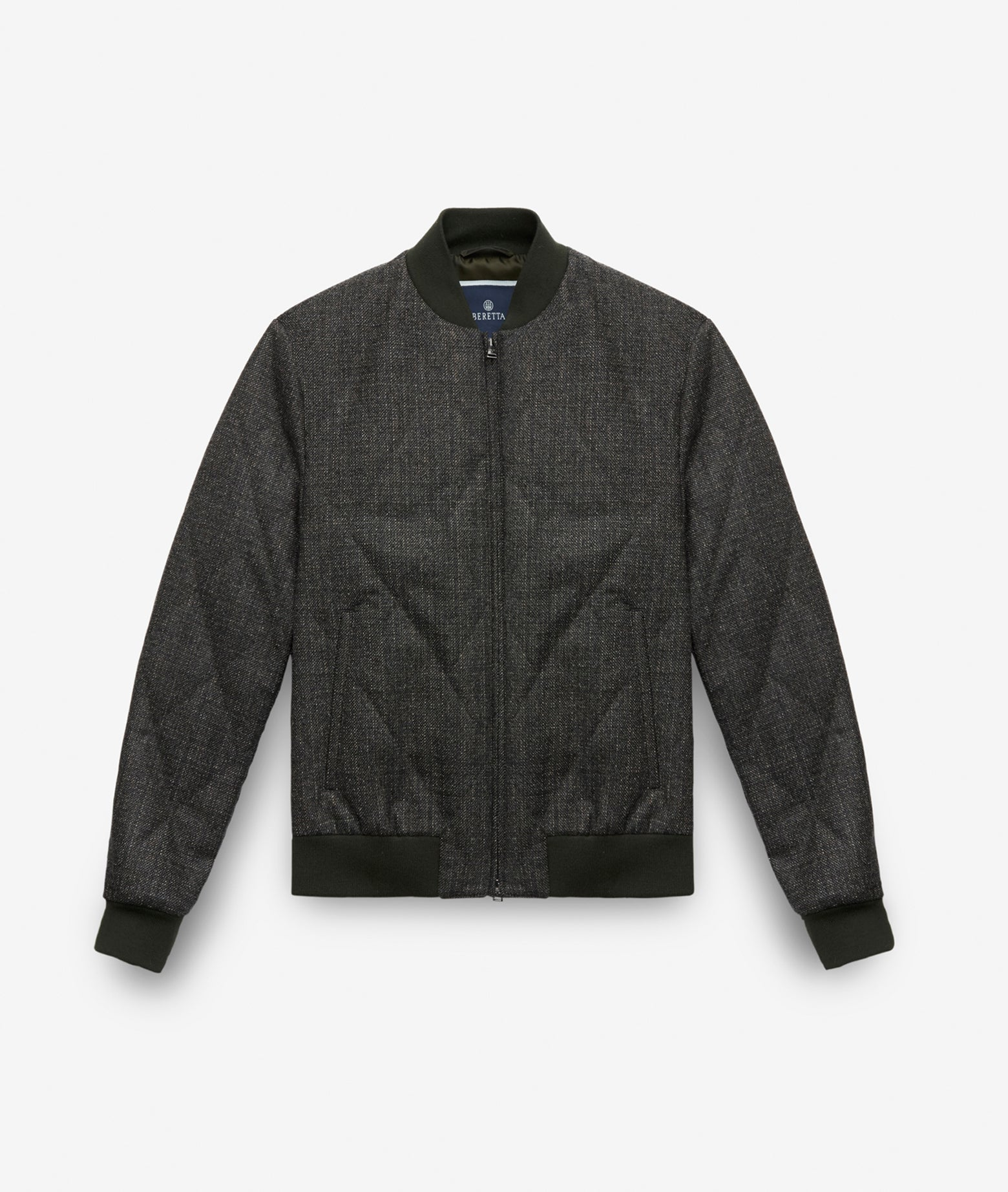 "Wool Bomber Jacket ""Cool King"""