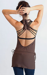 The OM Collection Backless Dress by Om Pure