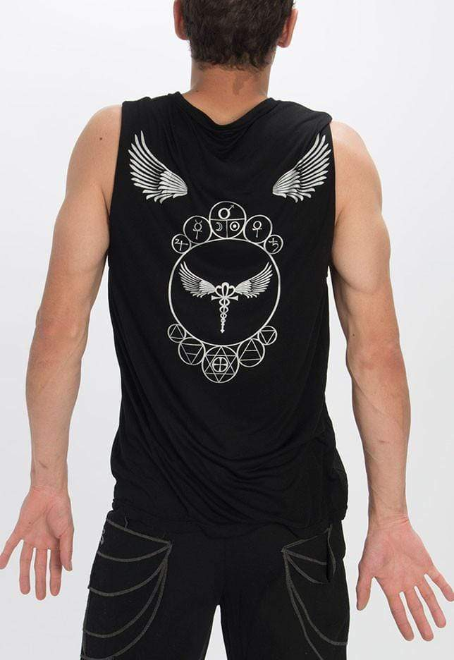 Seeds of Creation Men's Shirt Black / M Men's Egyptian Singlet