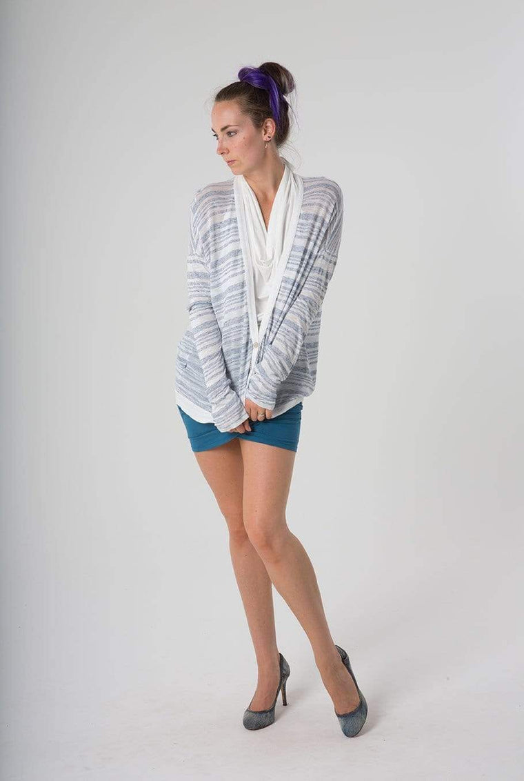 Stateside Outerwear XS Striped Cardigan // FINAL SALE