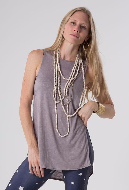 The OM Collection Accessory Long Strand Puka Shell