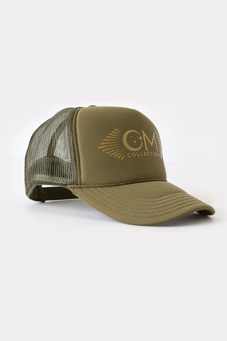 The OM Collection Army OM Trucker Hat