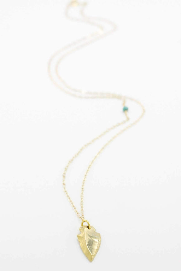 The OM Collection Bohemi Arma Necklace-Gold