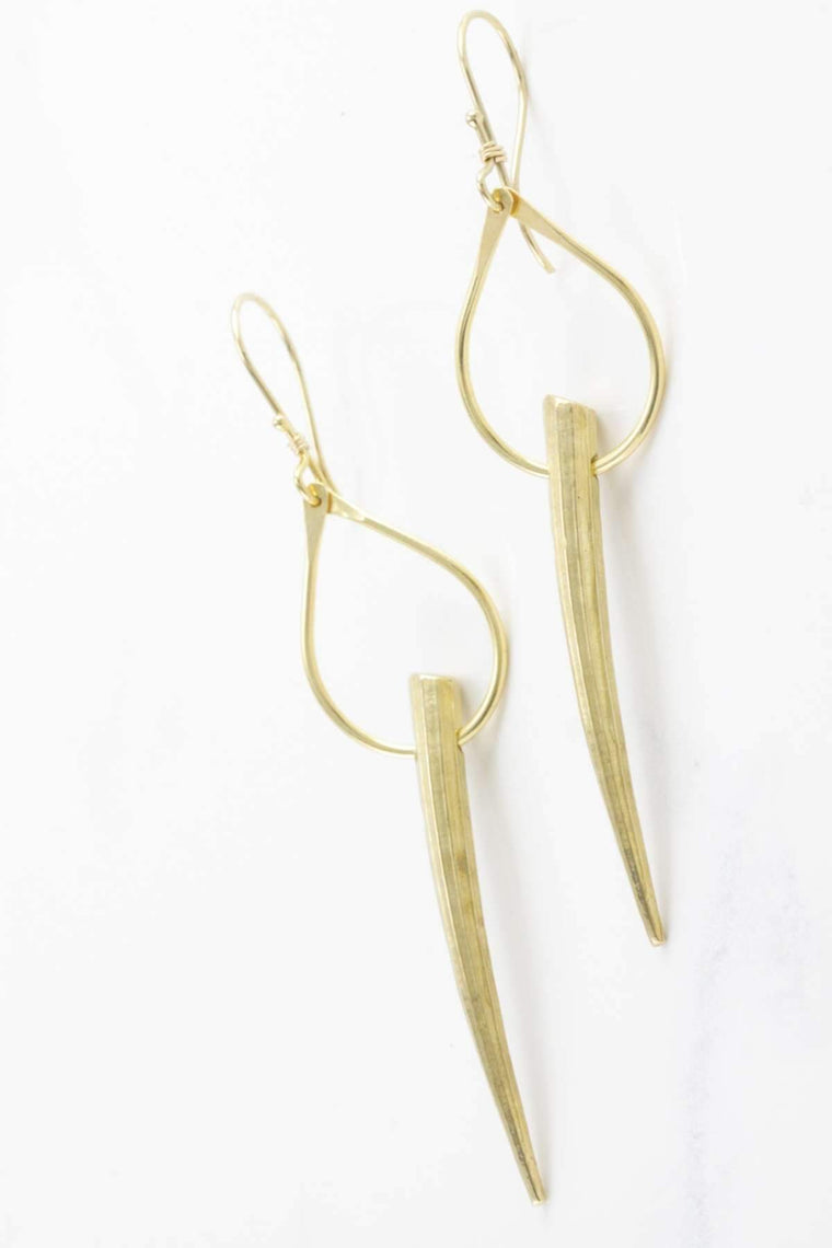 The OM Collection Bohemi Calyx Earring