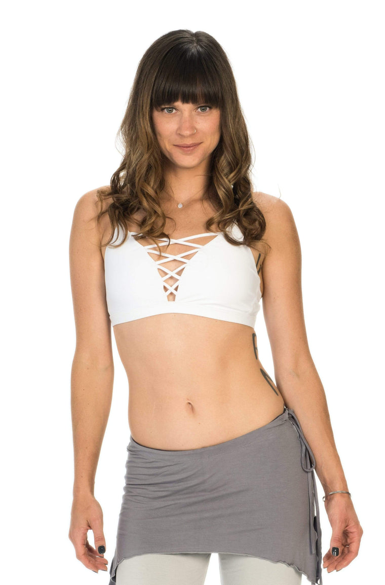 The OM Collection Bra Top Lace up Bra
