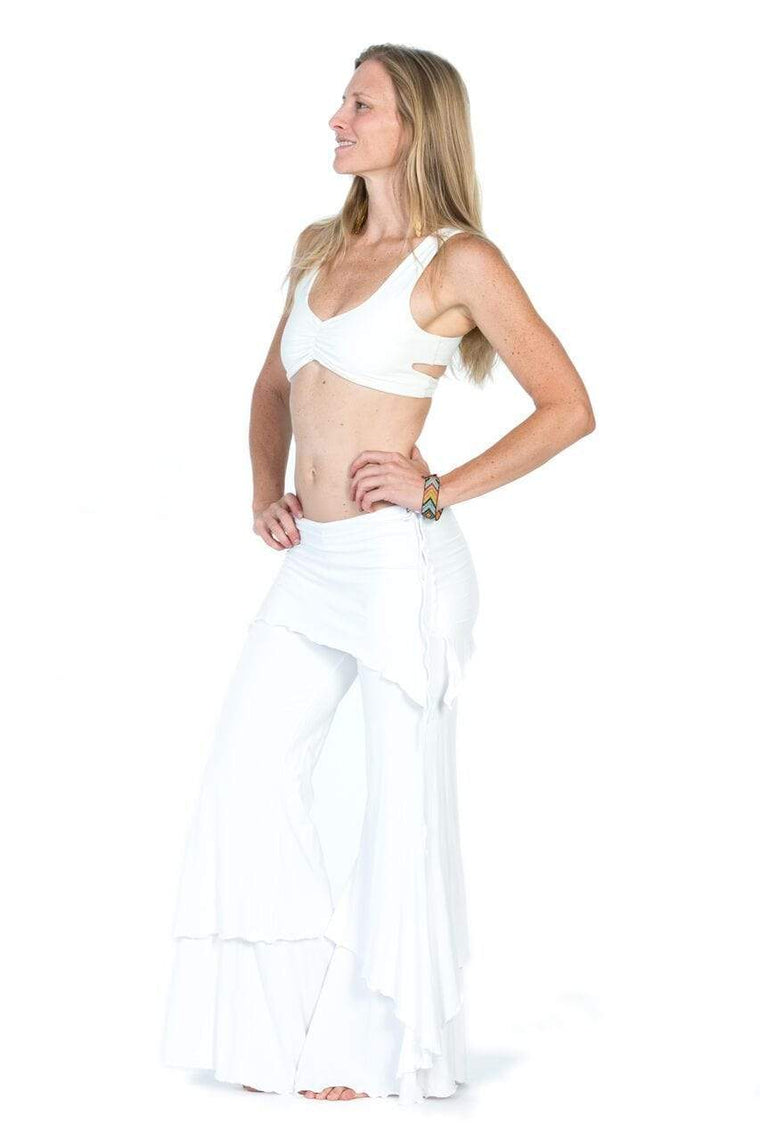 The OM Collection Bra Top Off White / XS Lotus Bra // Organic Cotton