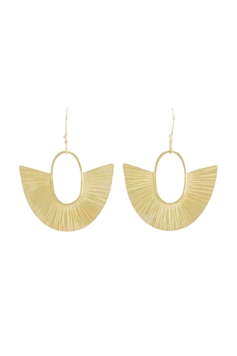 The OM Collection Bronze Bohemi Ventilo Earrings